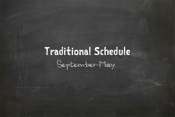 taditional schedule bigger